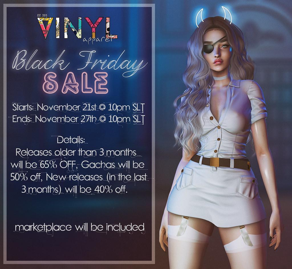 Vinyl Black Friday Sale!!