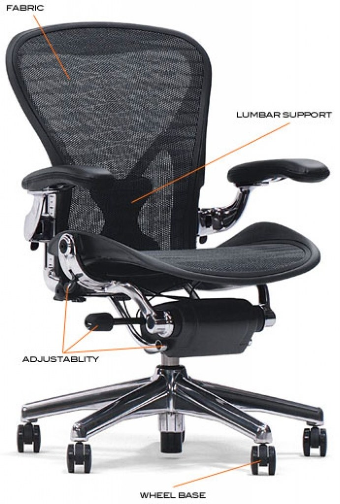 A high-quality ergonomic office chair can improve workflow - Image 2