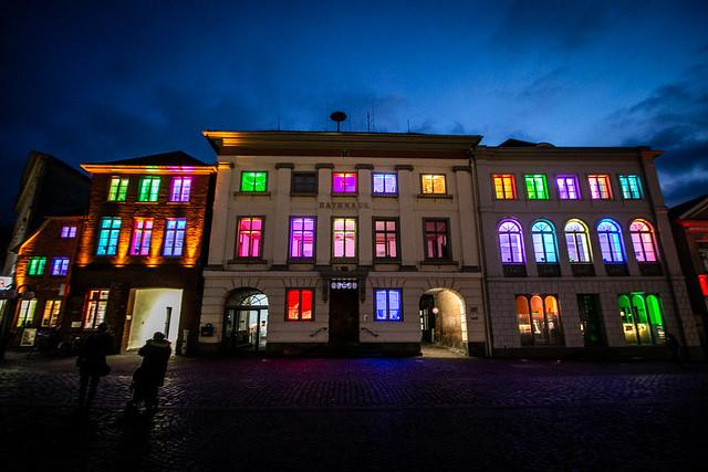 Lichterstadt Eutin - Rathaus, Canon EOS 70D, Canon EF-S 10-22mm f/3.5-4.5 USM