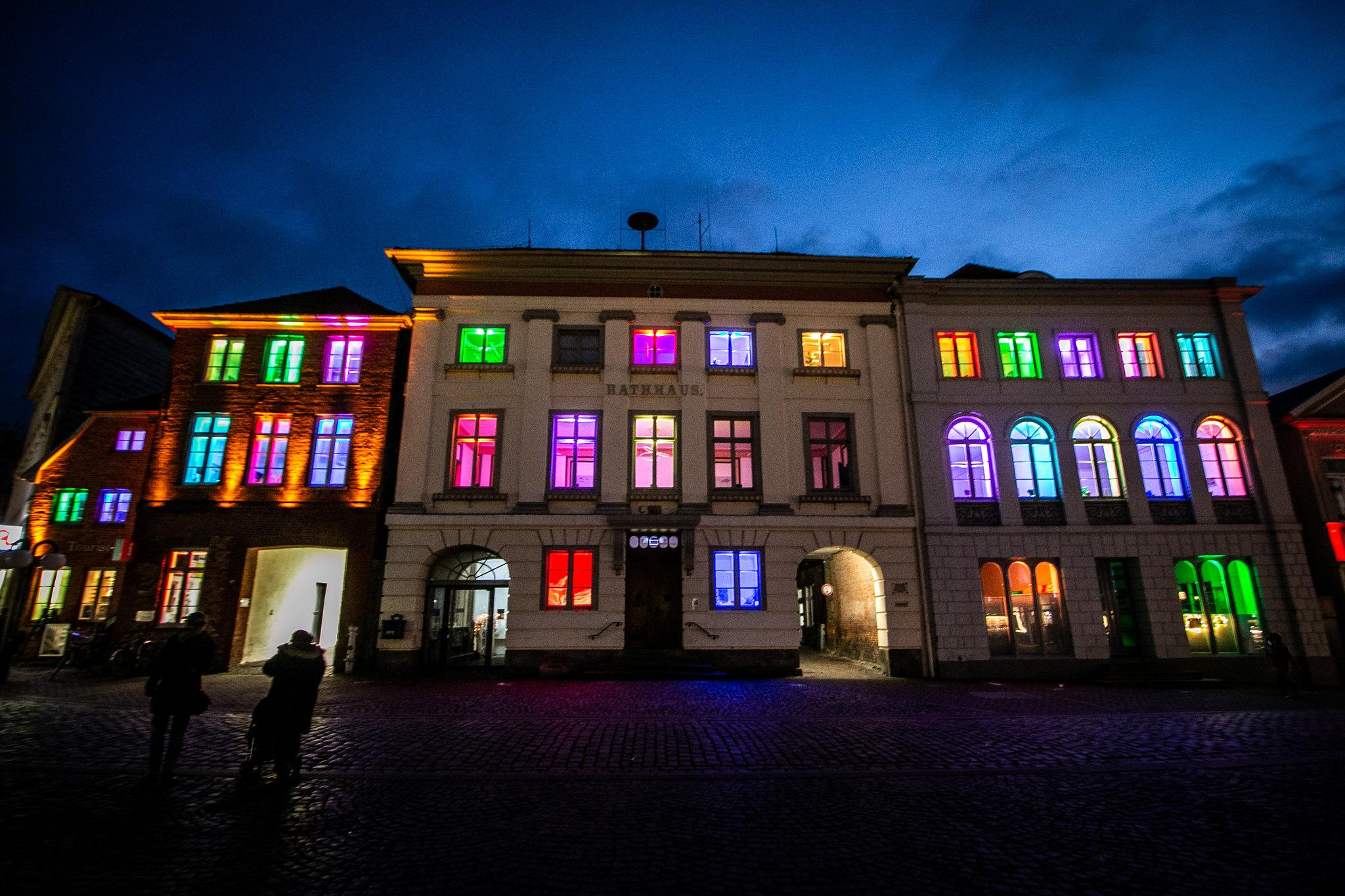 Lichterstadt Eutin - Rathaus