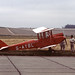 De Havilland DH60G Gipsy Moth, Duxford August 1978