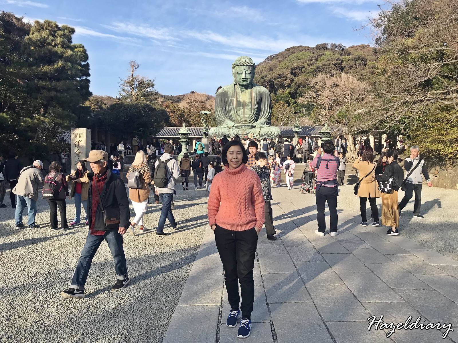 Kamakura Great Buddha-Japan-Hazeldiary
