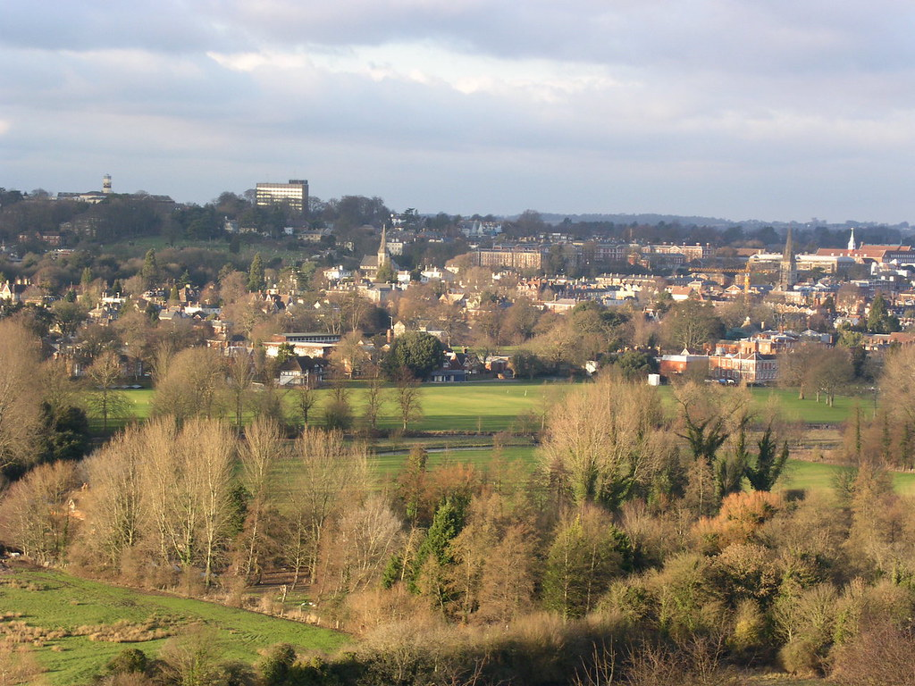 View from St Catherine's Hill Winchester Circular walk