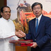 President Nakao meets with Sri Lanka's President