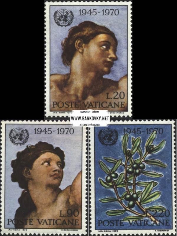 Známky Vatikán 1970 OSN