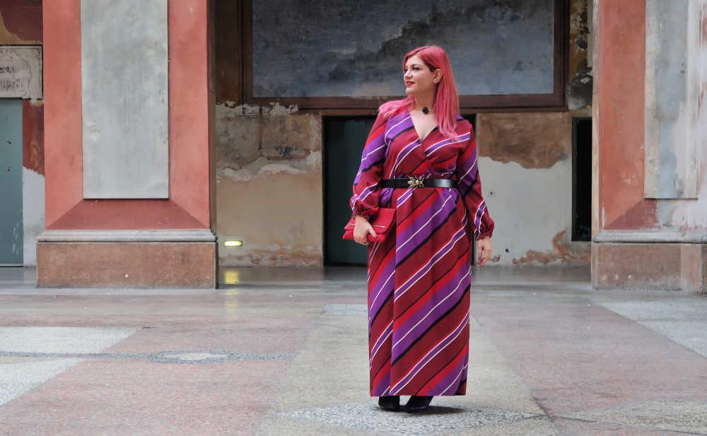 outfit viole e rosso (4)