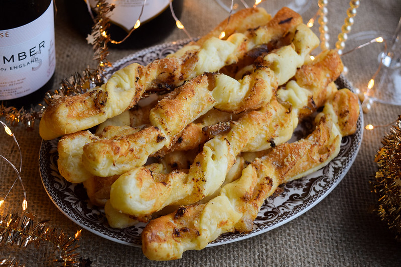 Easy Crystallised Ginger Cheese Straws