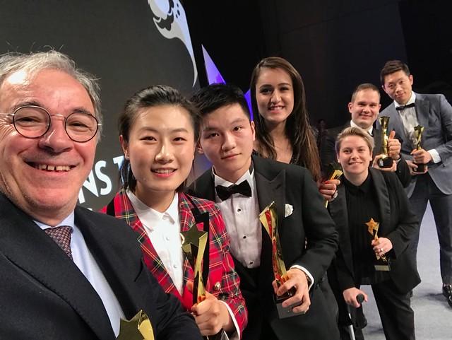 2018 ITTF Star Awards