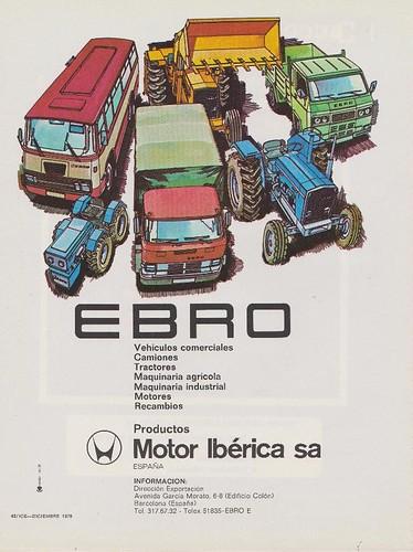 publicitat Ebro Motor Iberica 1976