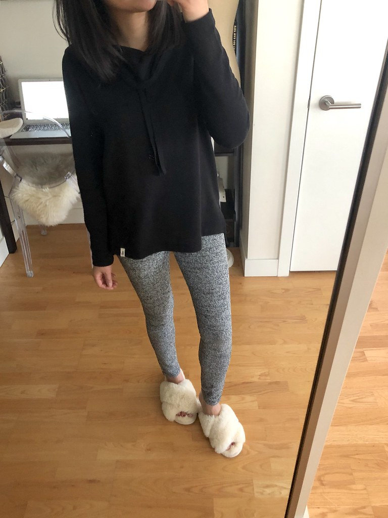 Lou & Grey Cozy Drawstring Top, size XXS regular
