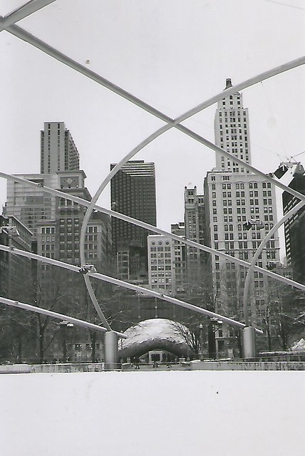 Pritzker Pavilion and The Bean