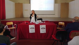 L'intervento della dott.ssa Eugenia Pontassuglia