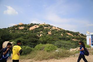 Uchi Pillaiyar Temple - View from Murugan Temple