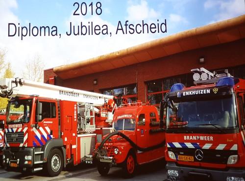 ENKHUIZEN - 17 dec Jaarafsluiting brandweer