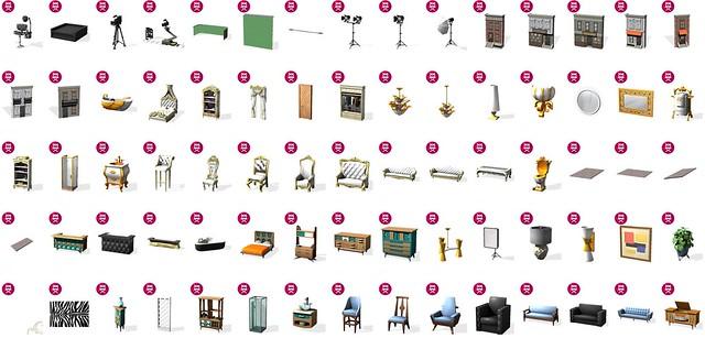 Lista com Todos os Objetos do The Sims 4 Rumo à Fama