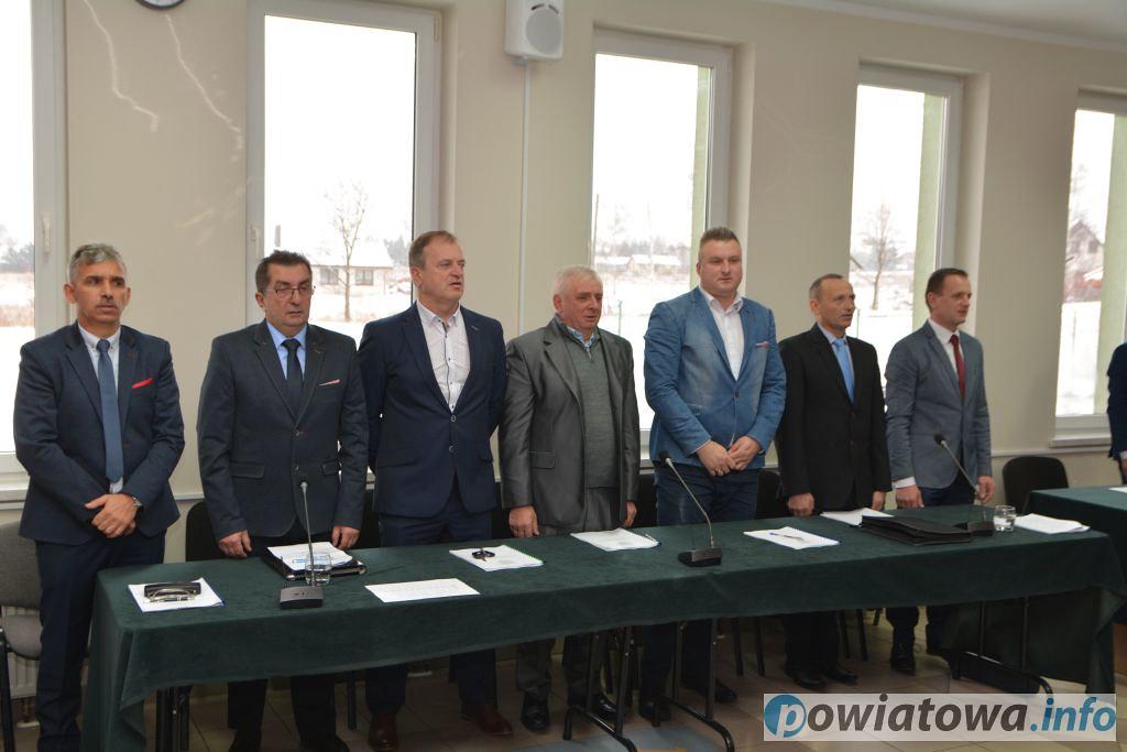 Pierwsza sesja rady gminy w Marciszowie