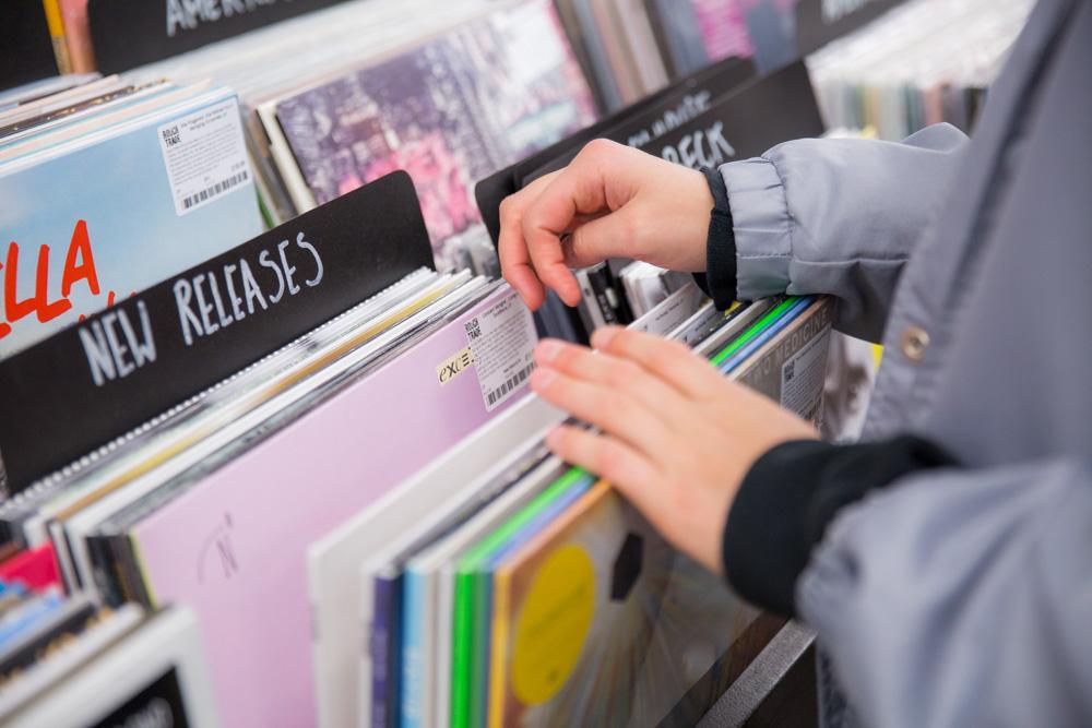 Record Shopping with... Mavi Phoenix