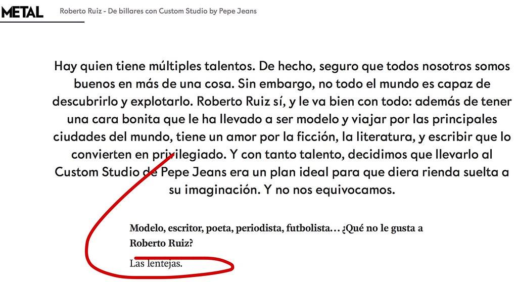 Entrevista a Roberto Ruiz