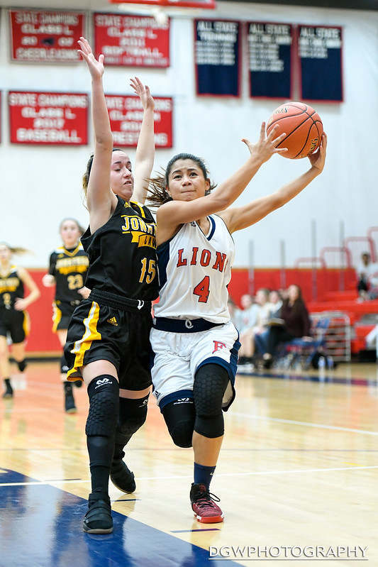 Foran High vs. Jonathan Law - High School Girls Basketball