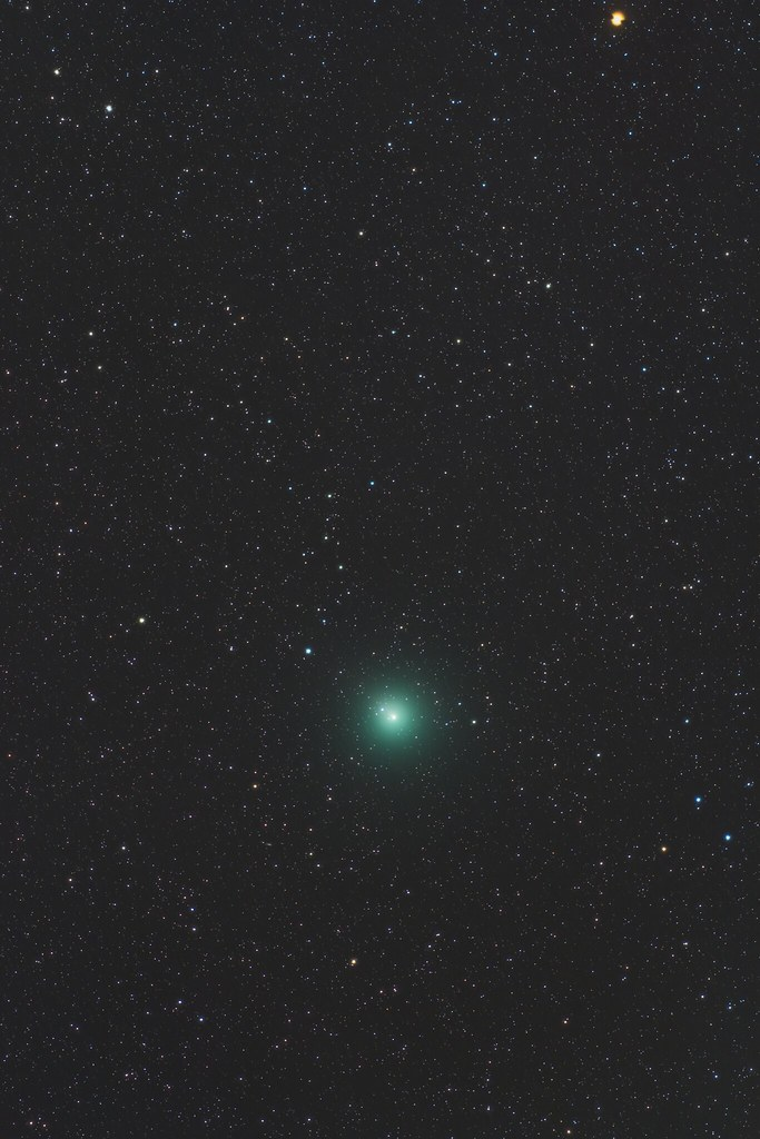 Comet 46P/Wirtanen, cannot see the tail..