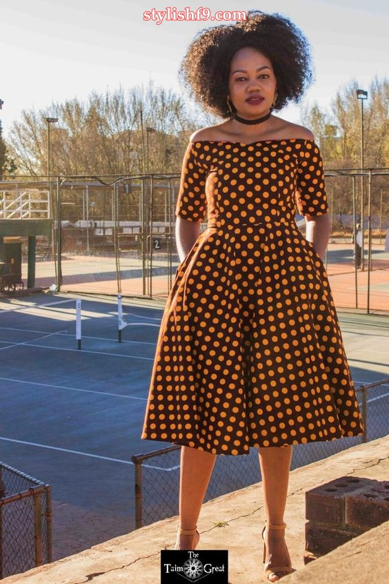 Special Look Traditional Shweshwe Dresses 2019 • Stylish F9