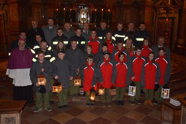 Friedenslichtfeier in der Stiftsbasilika St. Florian