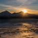 Sunset Tromvik Norway by valecomte20