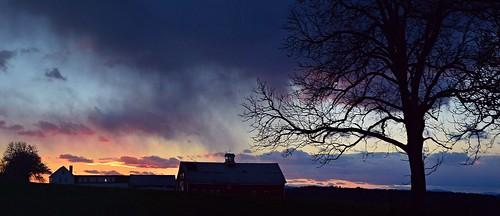 panorama sunsetpanorama sunsetsky cold windy nature naturephoto naturephotography landscape landscapephoto landscapephotography novembersunset november maine