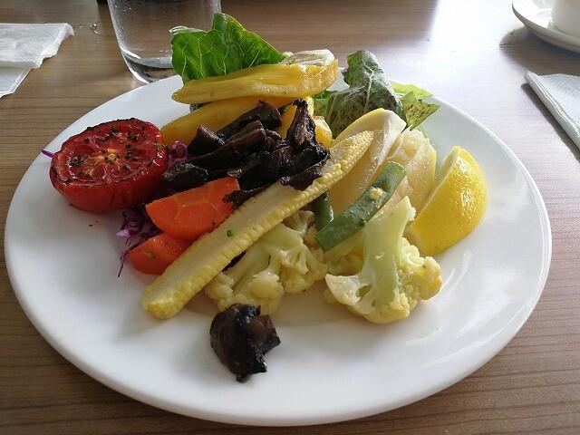 <p>焼き野菜</p>