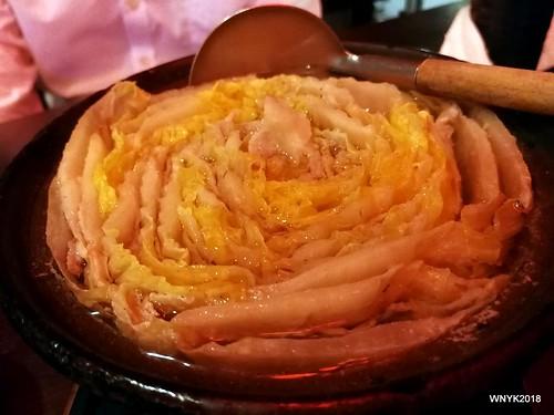 Chinese Cabbage Nabe