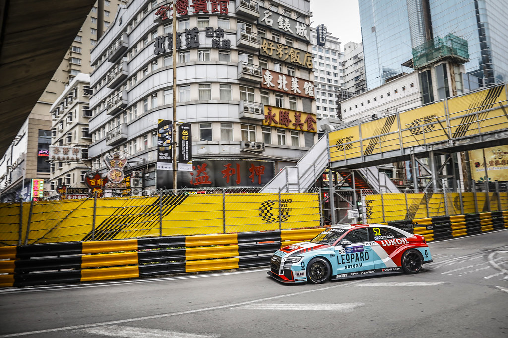 52 SHEDDEN Gordon, (gbr), Audi RS3 LMS TCR team Audi Sport Leopard Lukoil, action during the 2018 FIA WTCR World Touring Car cup of Macau, Circuito da Guia, from november  15 to 18 - Photo Francois Flamand / DPPI