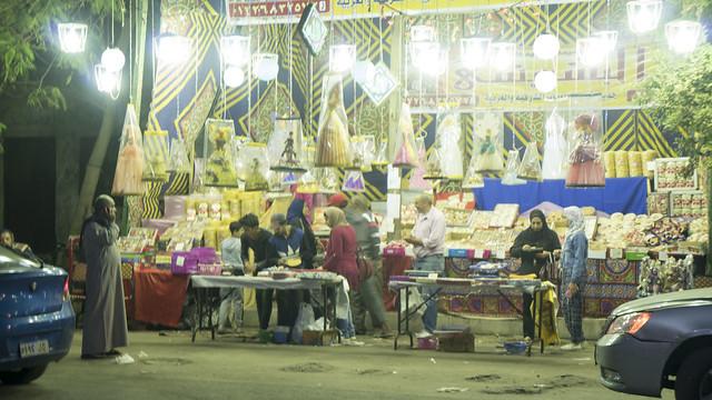 Buying Mawlid Sweets in Egypt's Cairo شراء حلاوة المولد فى القاهرة