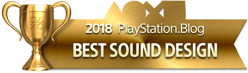 Best Sound Design - Gold