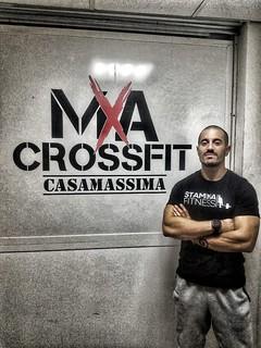 L'istruttore dell'Asd Mxa CrossFit Casamassima Tiziano Trimigliozzi