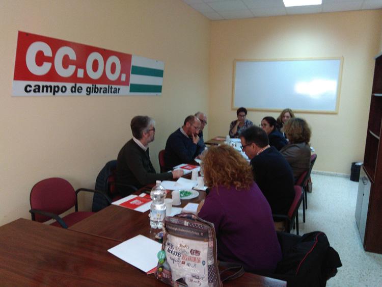 CCOO se preocupa por la situación social y económica de La Línea