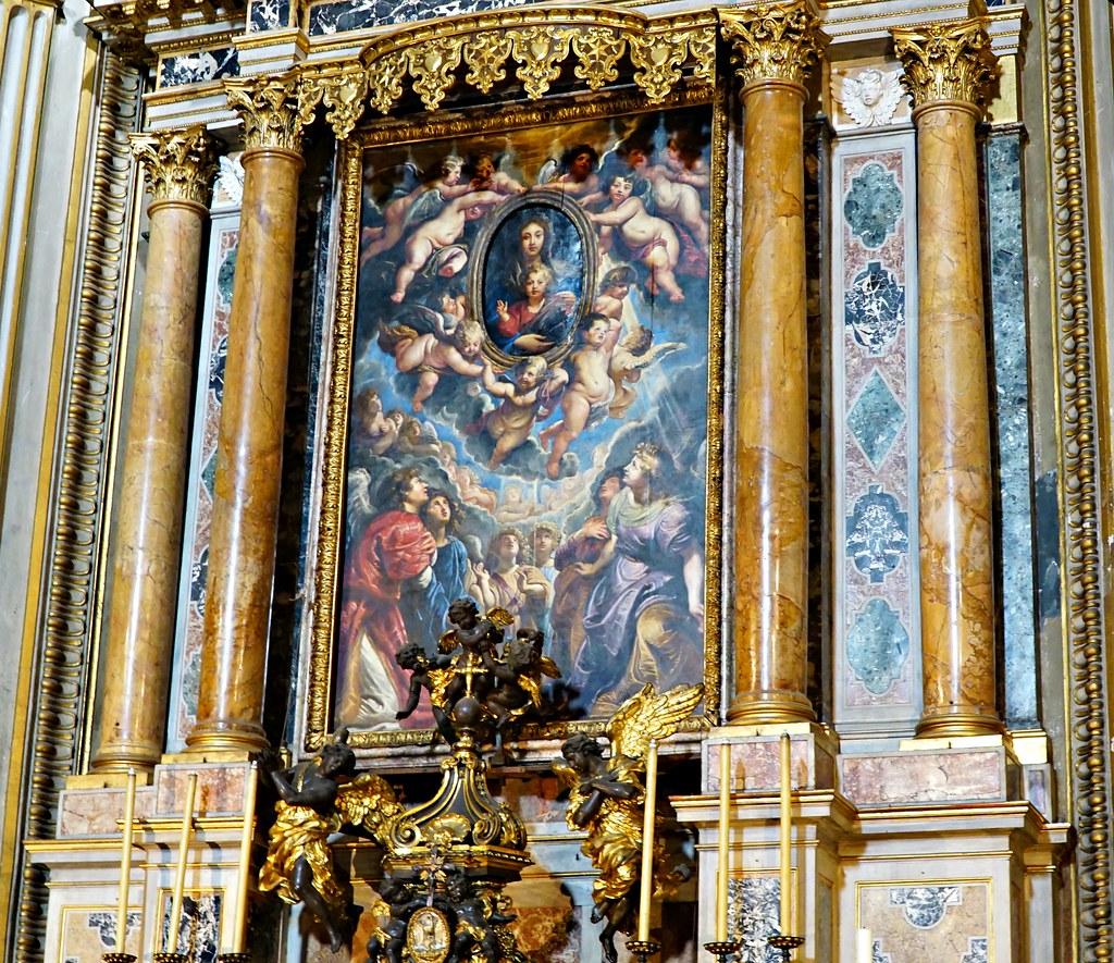 Rubensin alttaritaulu Chiesa Nuova