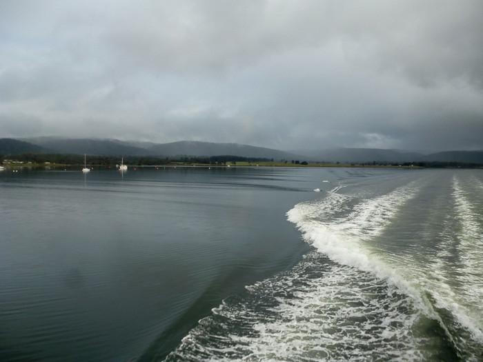 Maria Island boat