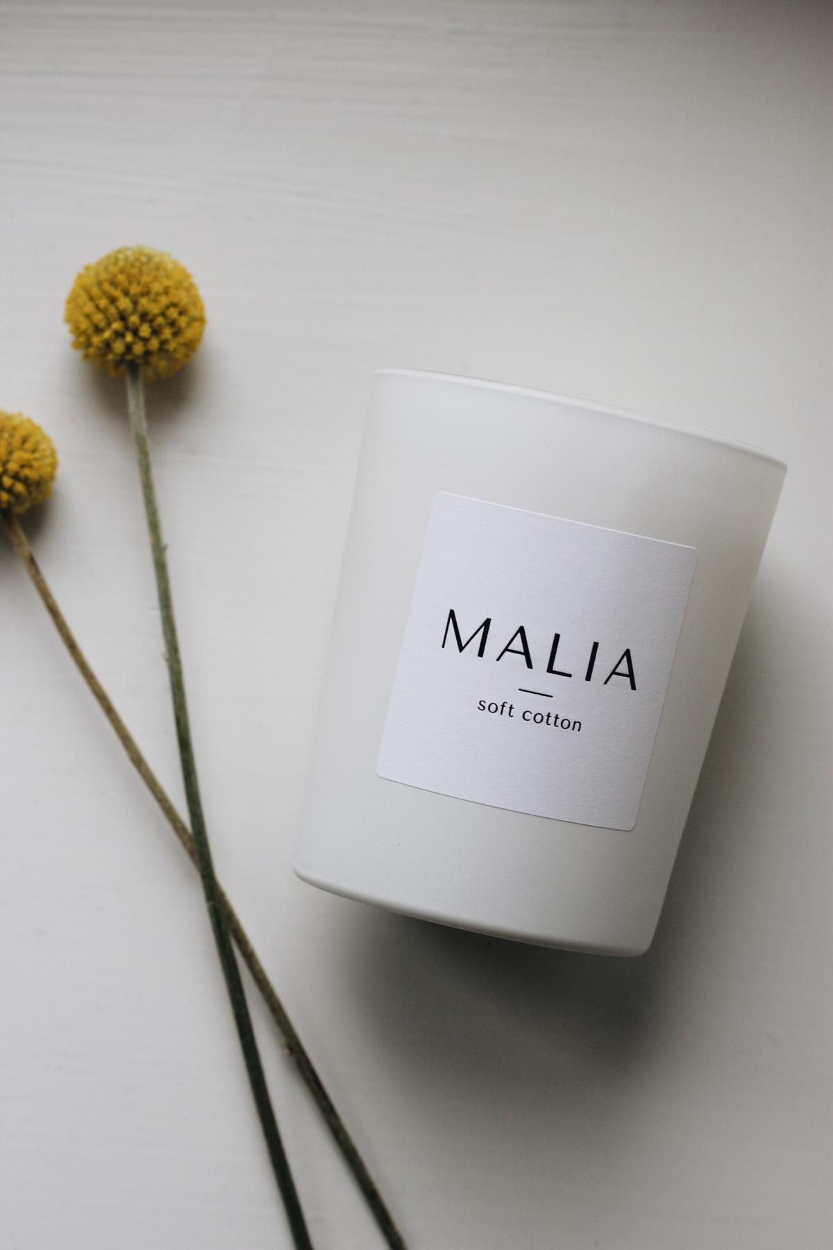 Malia Company scented candles