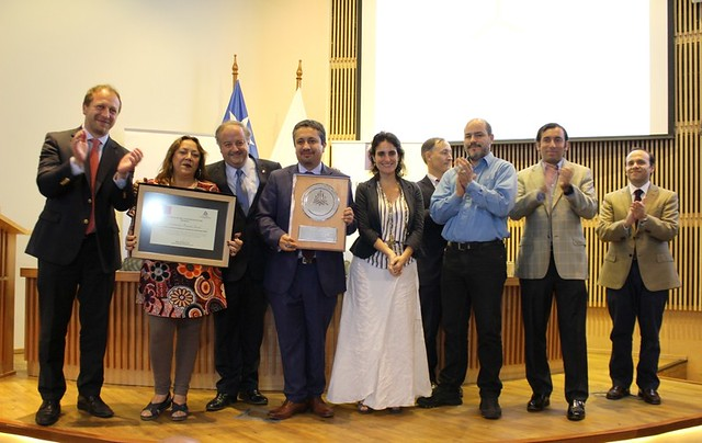 Ceremonia Premio por Excelencia Institucional 2018 (30/11/2018)