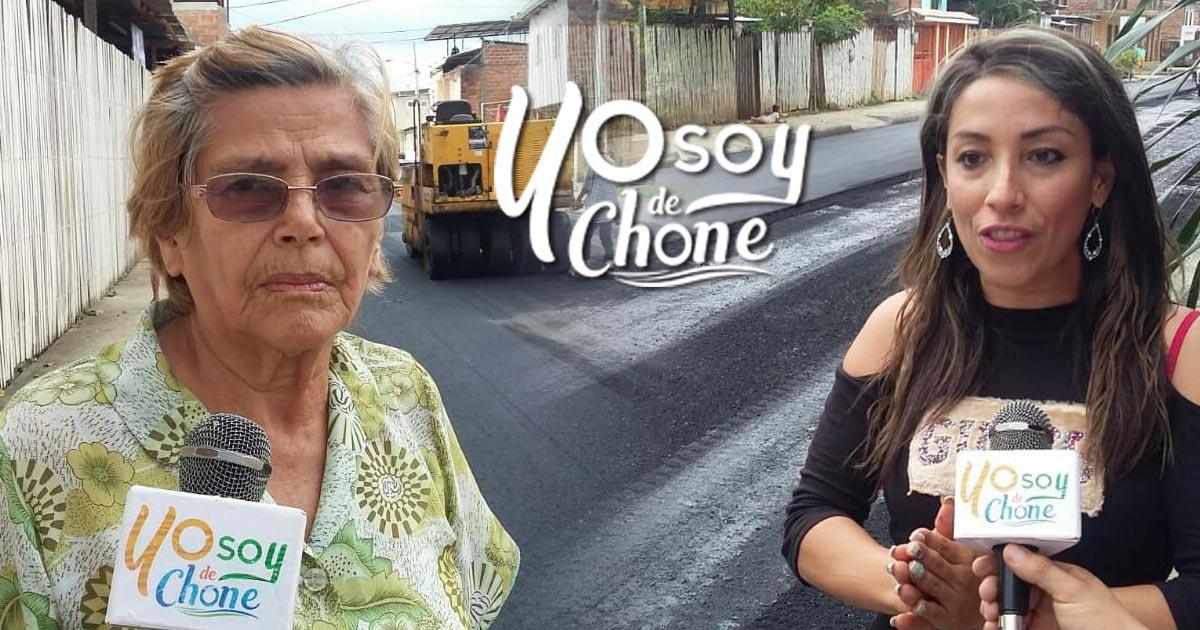 Ya contamos con asfaltado, proclaman los habitantes de la calle Elías Cedeño