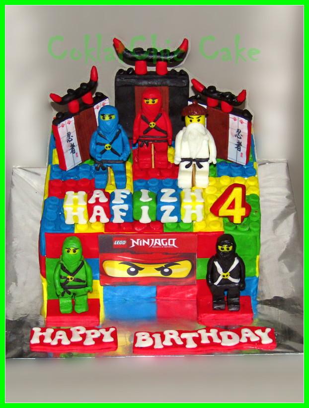 Cake Ninjago HAFIZH 20 cm