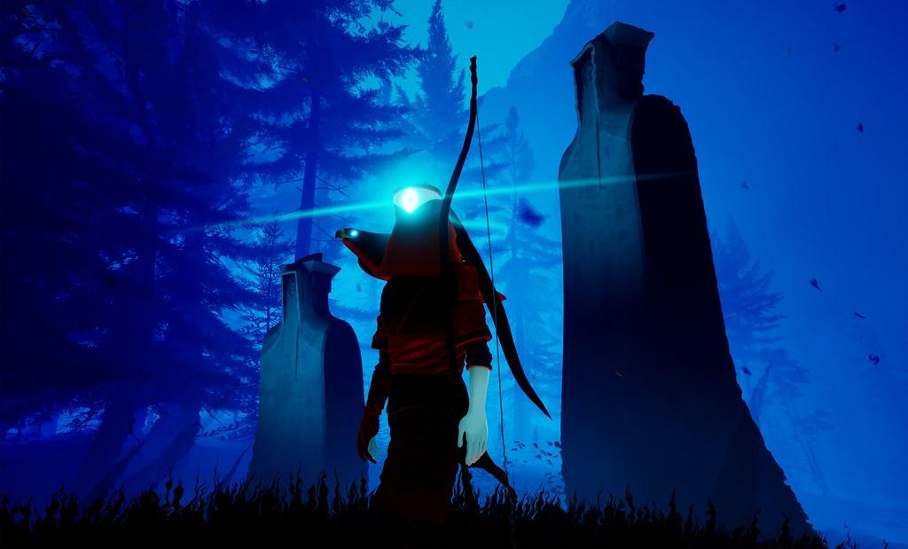 46210561921 3ca4a1492c b - The Pathless: Giant Squids neues Abenteuer handelt vom Bogenschießen, Falknerei und einer mythischen Atmosphäre