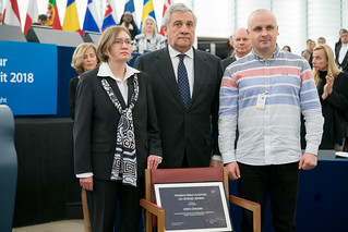 "Sakharov Prize ceremony: ""Oleg Sentsov is a fighter by nature"