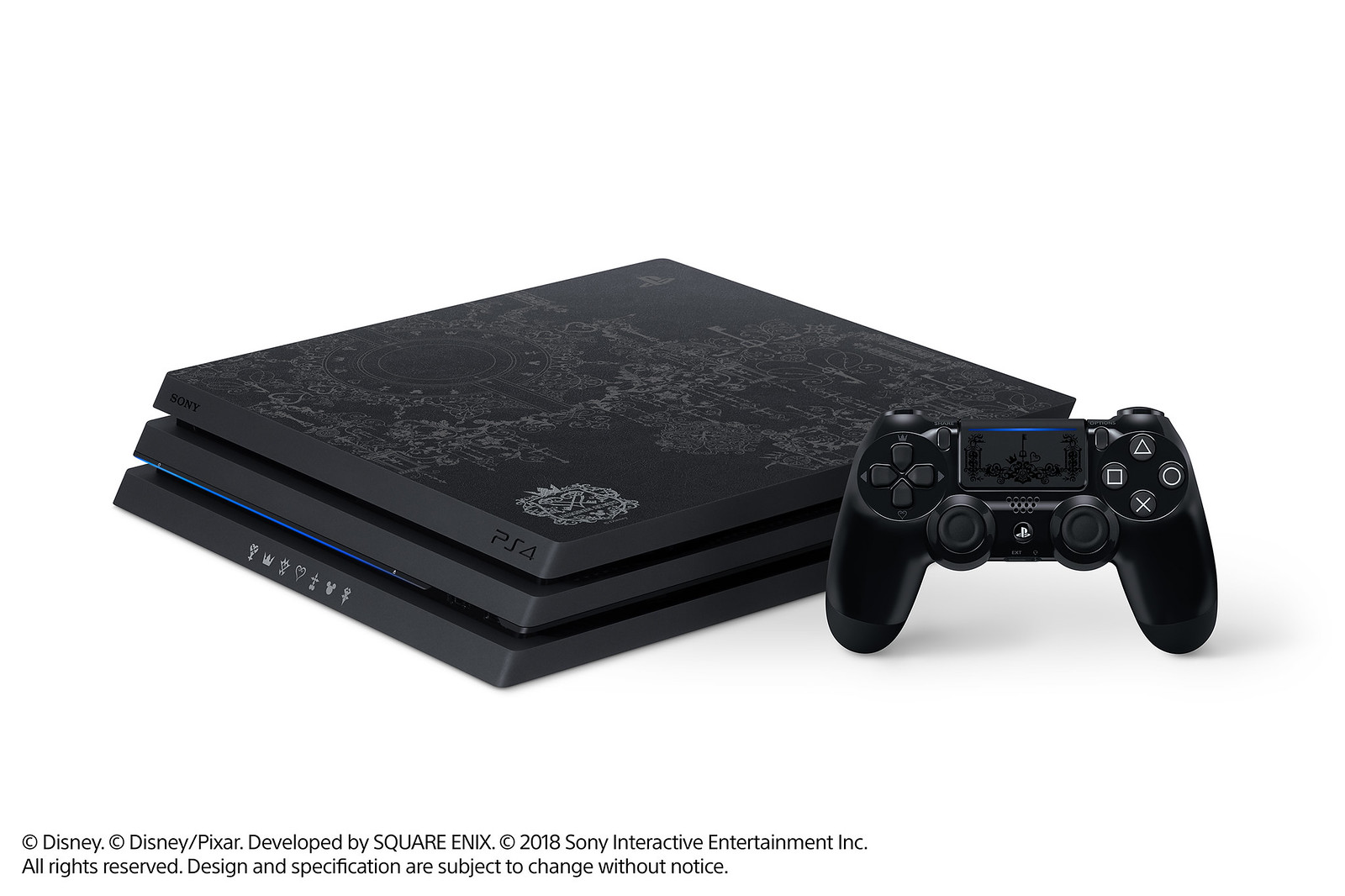 Limited Edition Kingdom Hearts III PS4 Pro Bundle