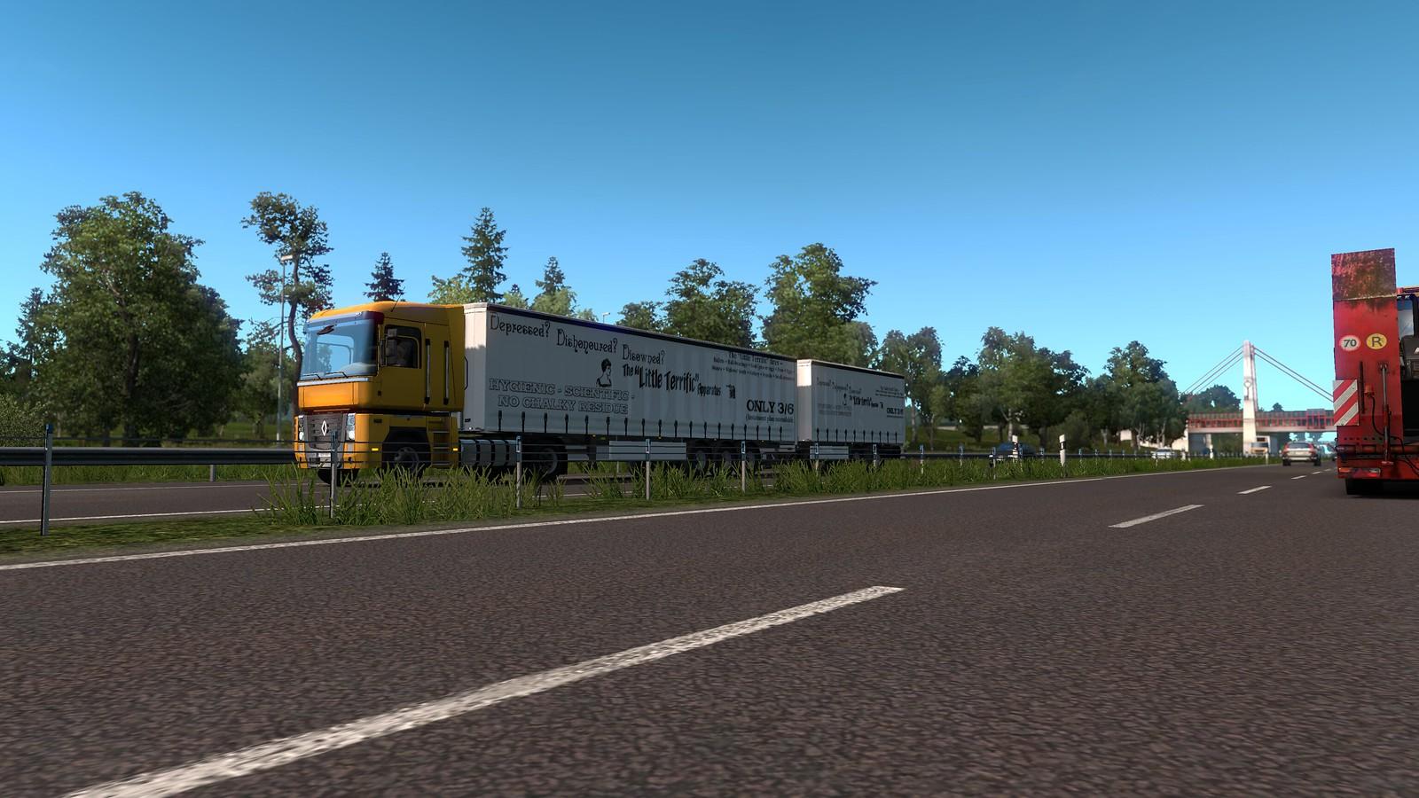 Multiple Trailers in Traffic - ETS2 - v4 0 - SCS Software