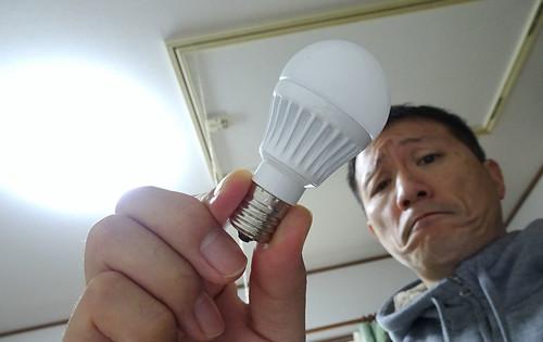 家の照明LED化
