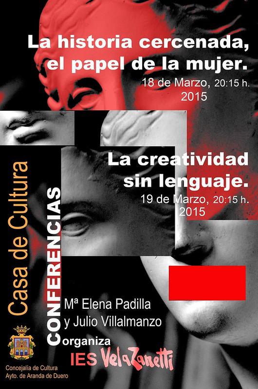Conferencia en la Casa de Cultura