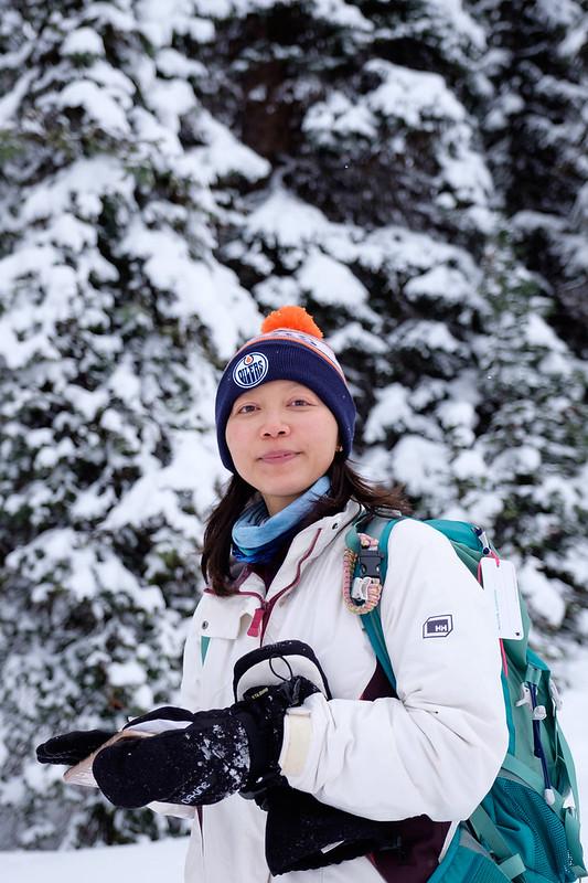 Snowshoeing - Rawson Lake - Jan 2019-9