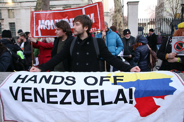 Oppose the imperialist coup in Venezuela!