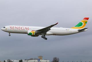F-WWCM Airbus A330 NEO Air Sénégal